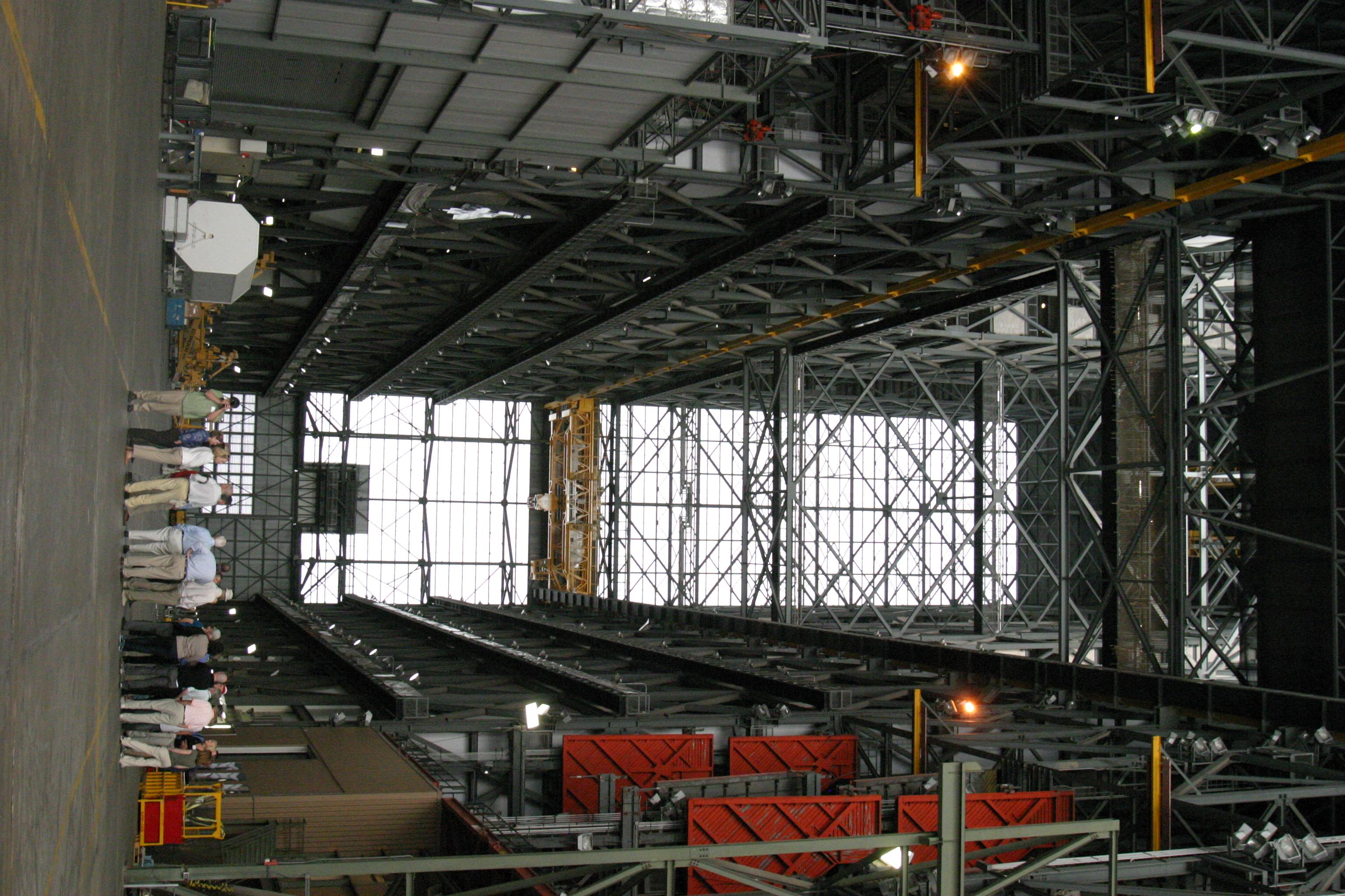 nasa vehicle assembly building interior - photo #12