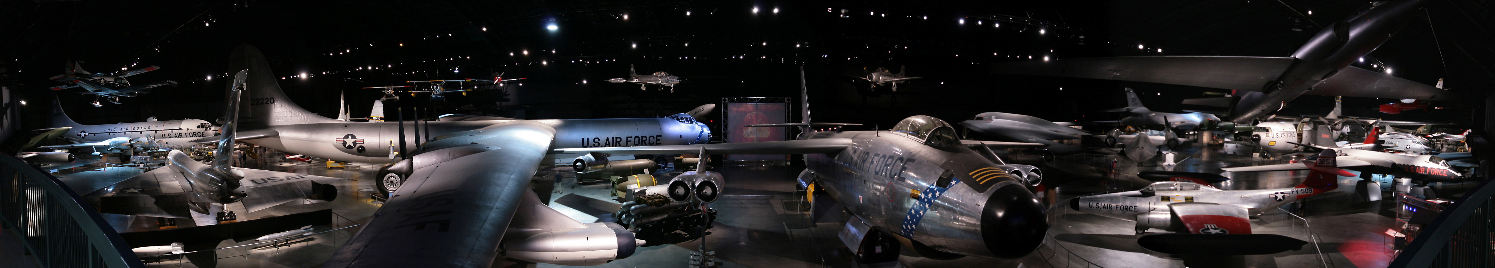 Panorama of the Cold War exhibit