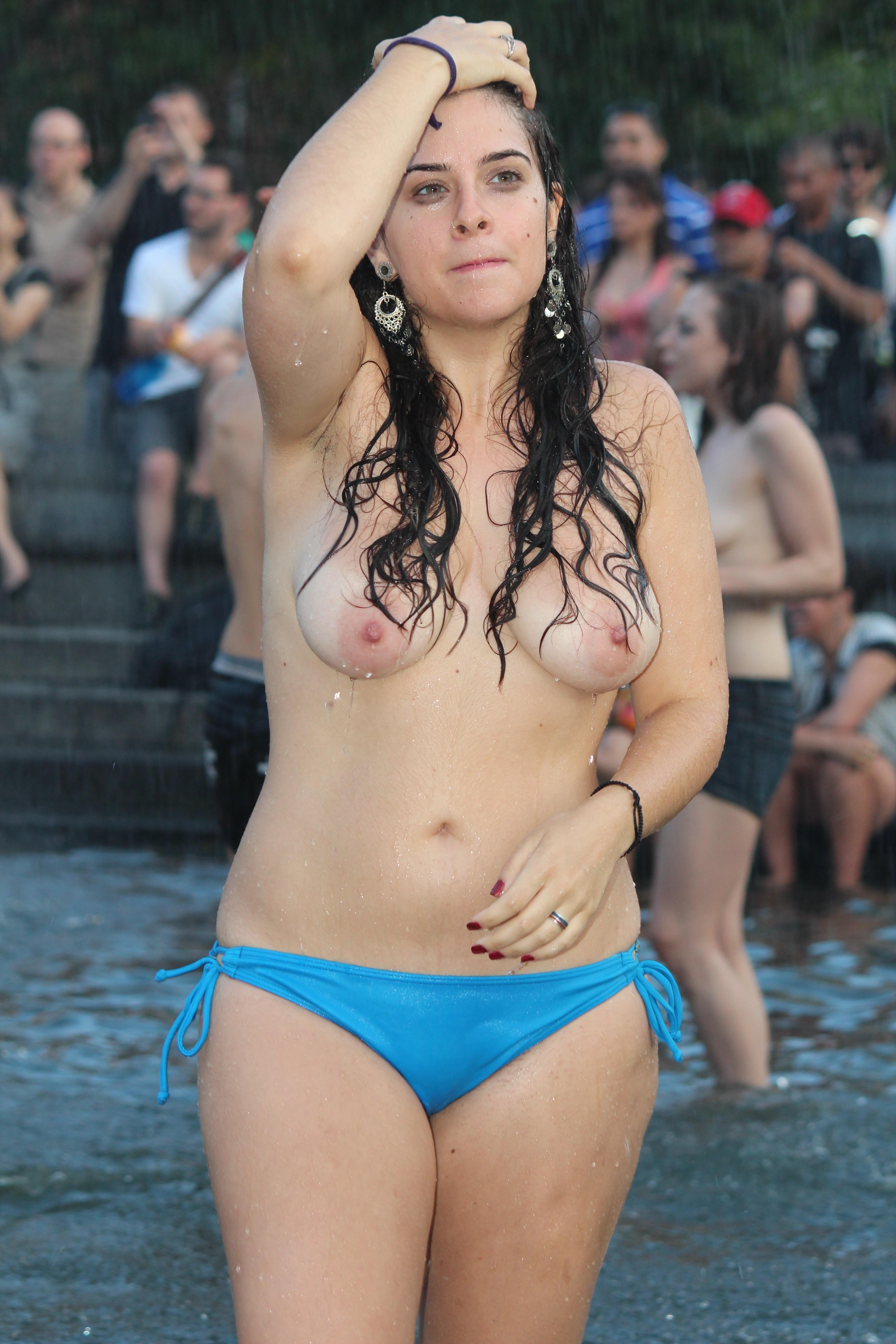 Dyke march nude girls