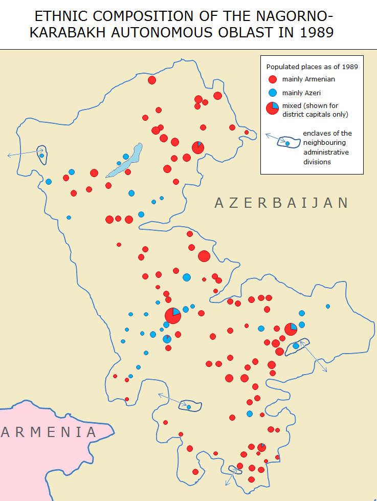 nagorno karabakh conflict A military showdown between azerbaijan and armenia over the disputed nagorno-karabakh region is highly likely this year, a council on.