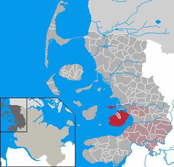 Nordstrand locator map