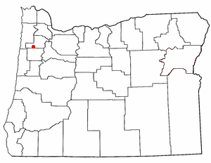 Loko di Willamina, Oregon