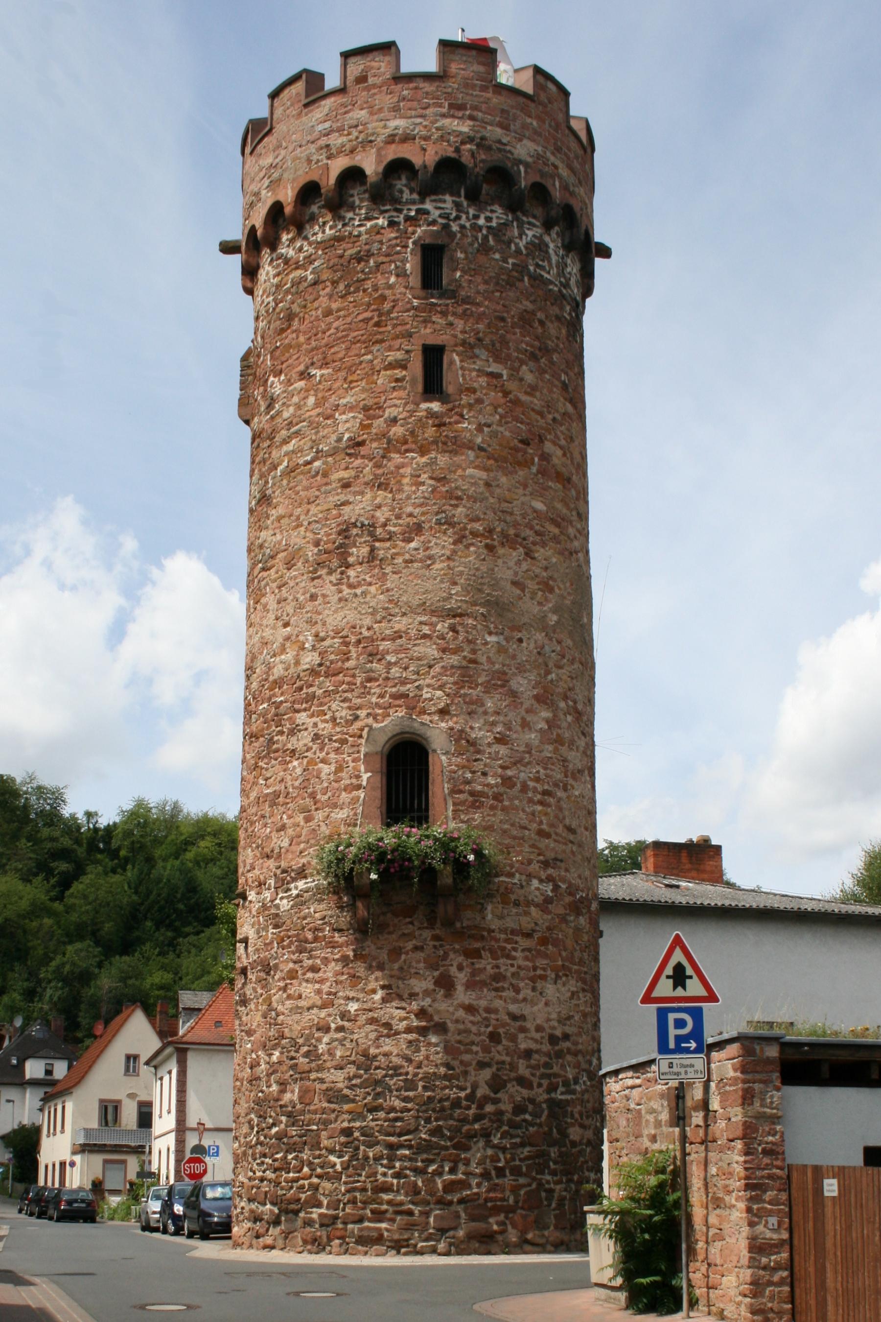 File:Obernburg Runder Turm.jpg - Wikimedia Commons