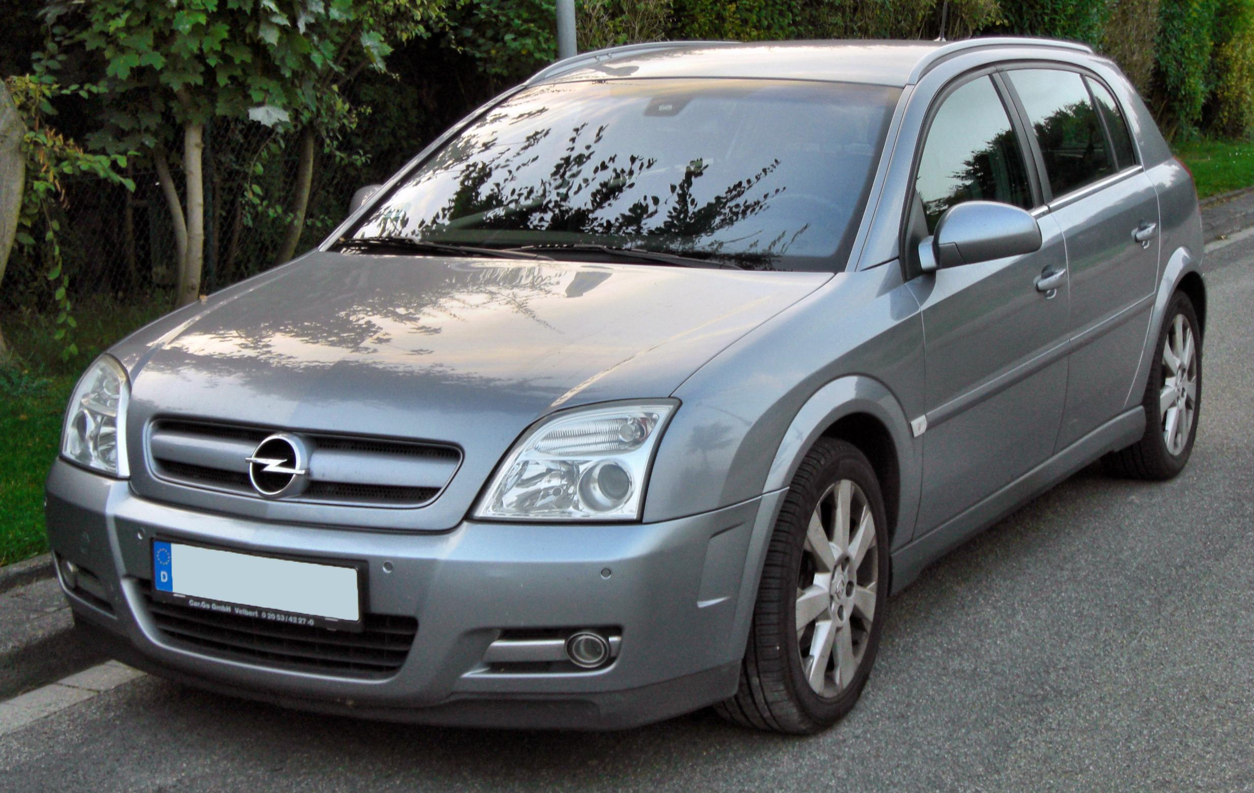 Zaawansowane Opel Signum – Wikipedia, wolna encyklopedia HU09