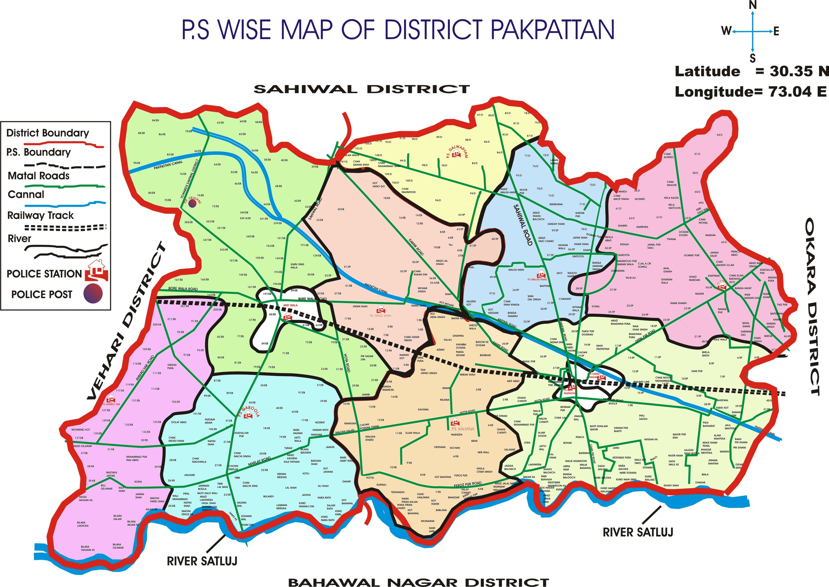 FilePakpattanmapjpg Wikimedia Commons - Pakpattan map