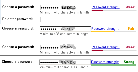 password strength The pitfalls of password strength meters can you rely on algorithms and strength meters to confirm the strength of your passwords.