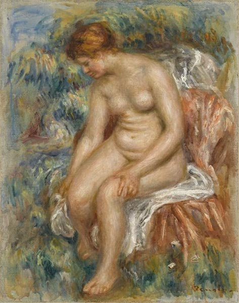 File:Pierre-Auguste Renoir - Baigneuse assise s'essuyant une jambe.jpg