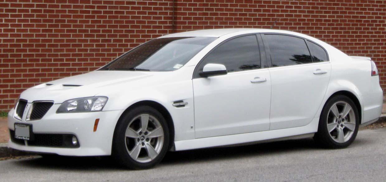 File:Pontiac G8 GT -- 04-13-2010.jpg - Wikimedia Commons
