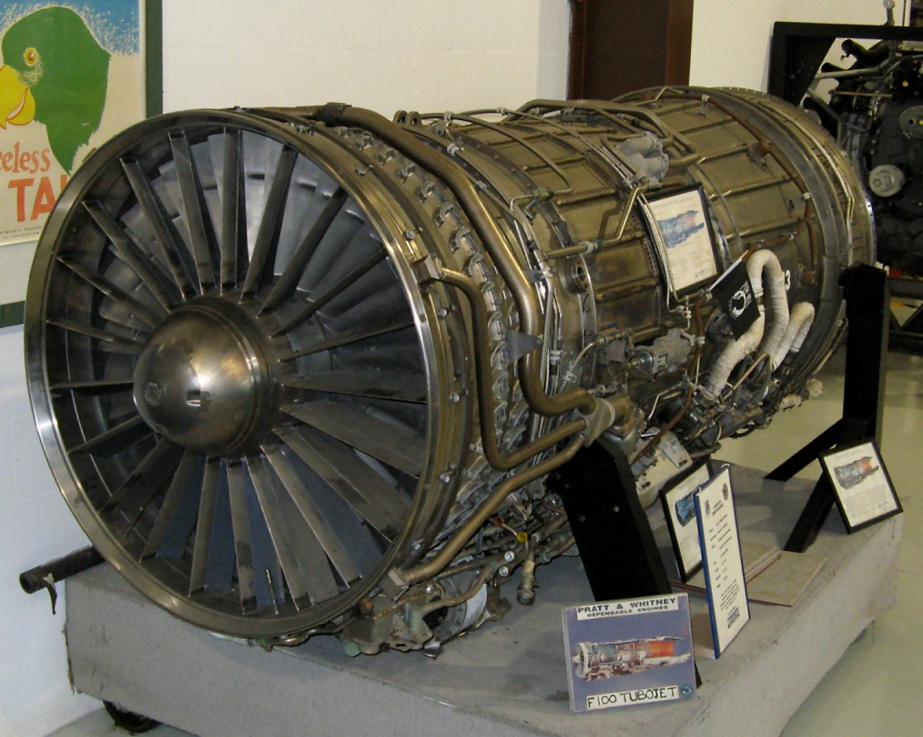File:Pratt & Whitney F100.jpg - Wikimedia Commons