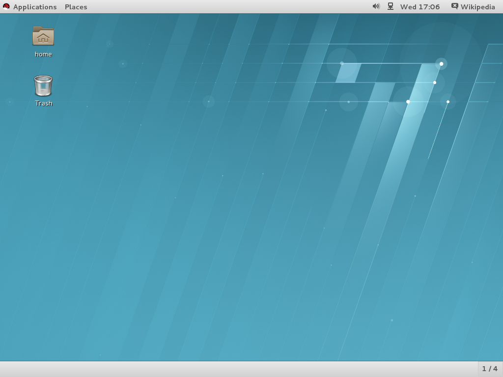 Red Hat Enterprise Linux full screenshot
