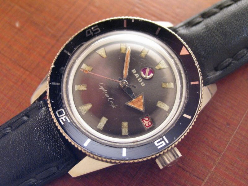 Rado Captain Cook MK1 von 1962 (swiss watch)
