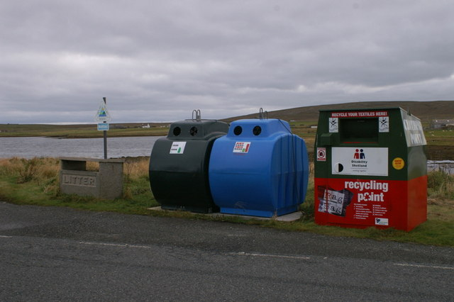 File:Recycling centre, Baltasound - geograph.org.uk - 1557499.jpg