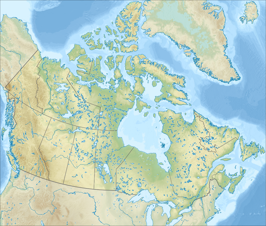 Lakes Of Canada Map.List Of Lakes Of Canada Wikipedia