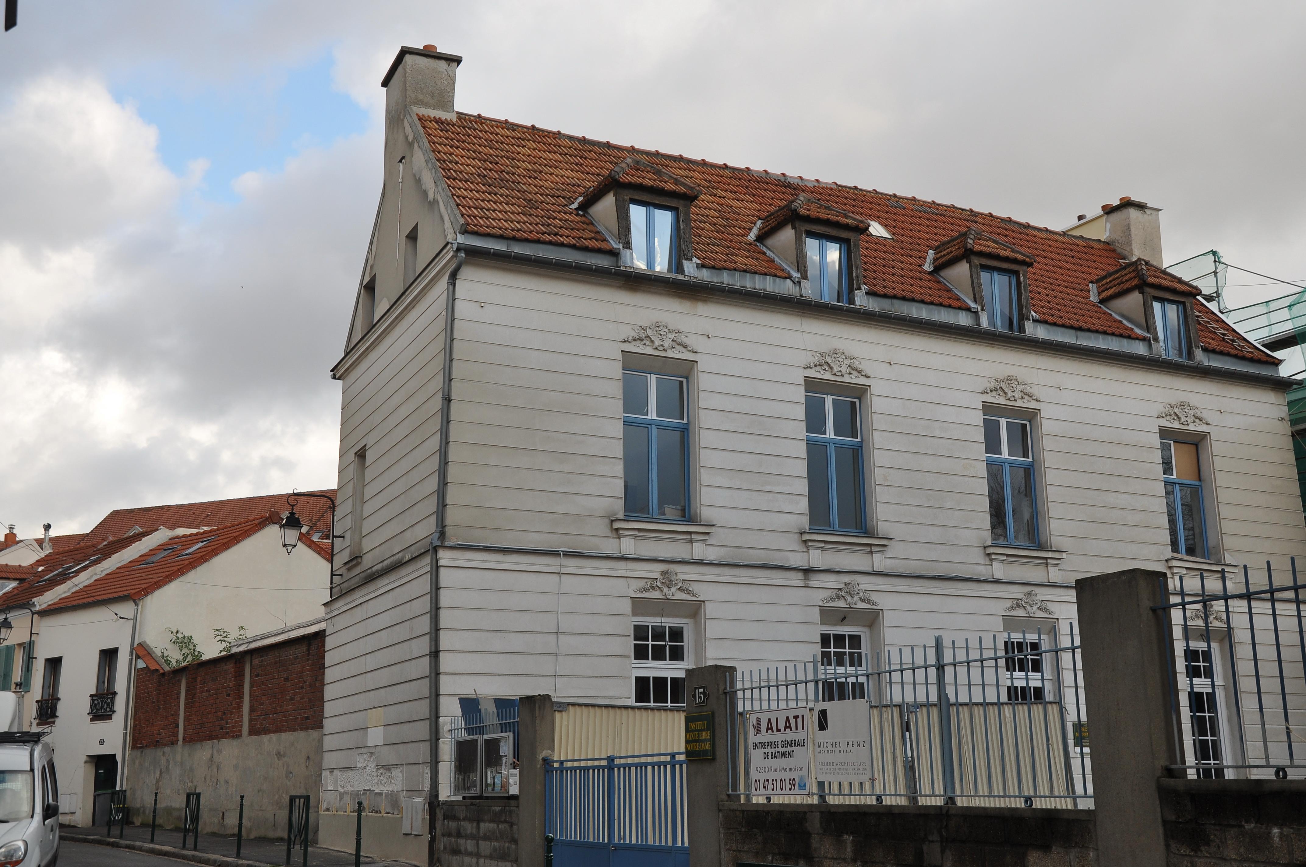 File Rueil Malmaison Maison Dite Pavillon De La Valliere 001 Jpg Wikimedia Commons