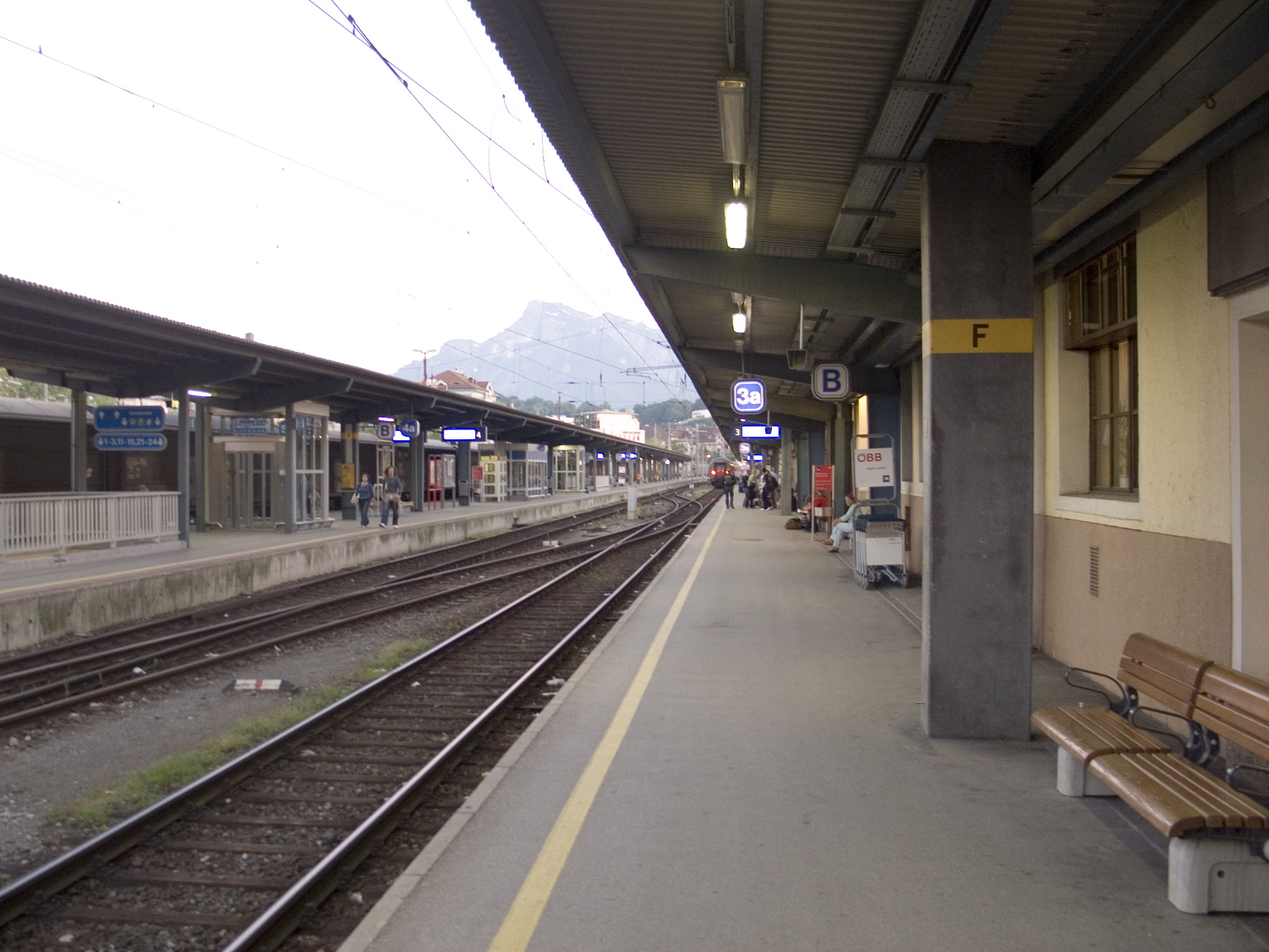 Salzburg Train Station