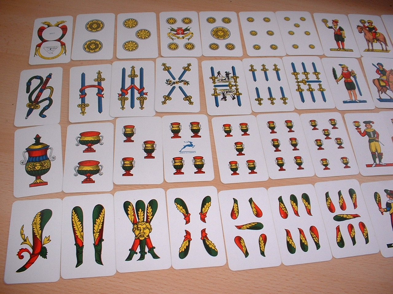 scopa italian card game