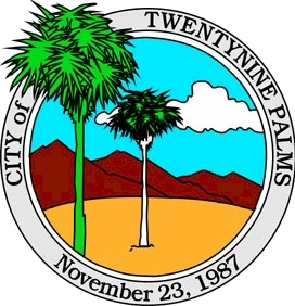 City of Twentynine Palms, CA seal