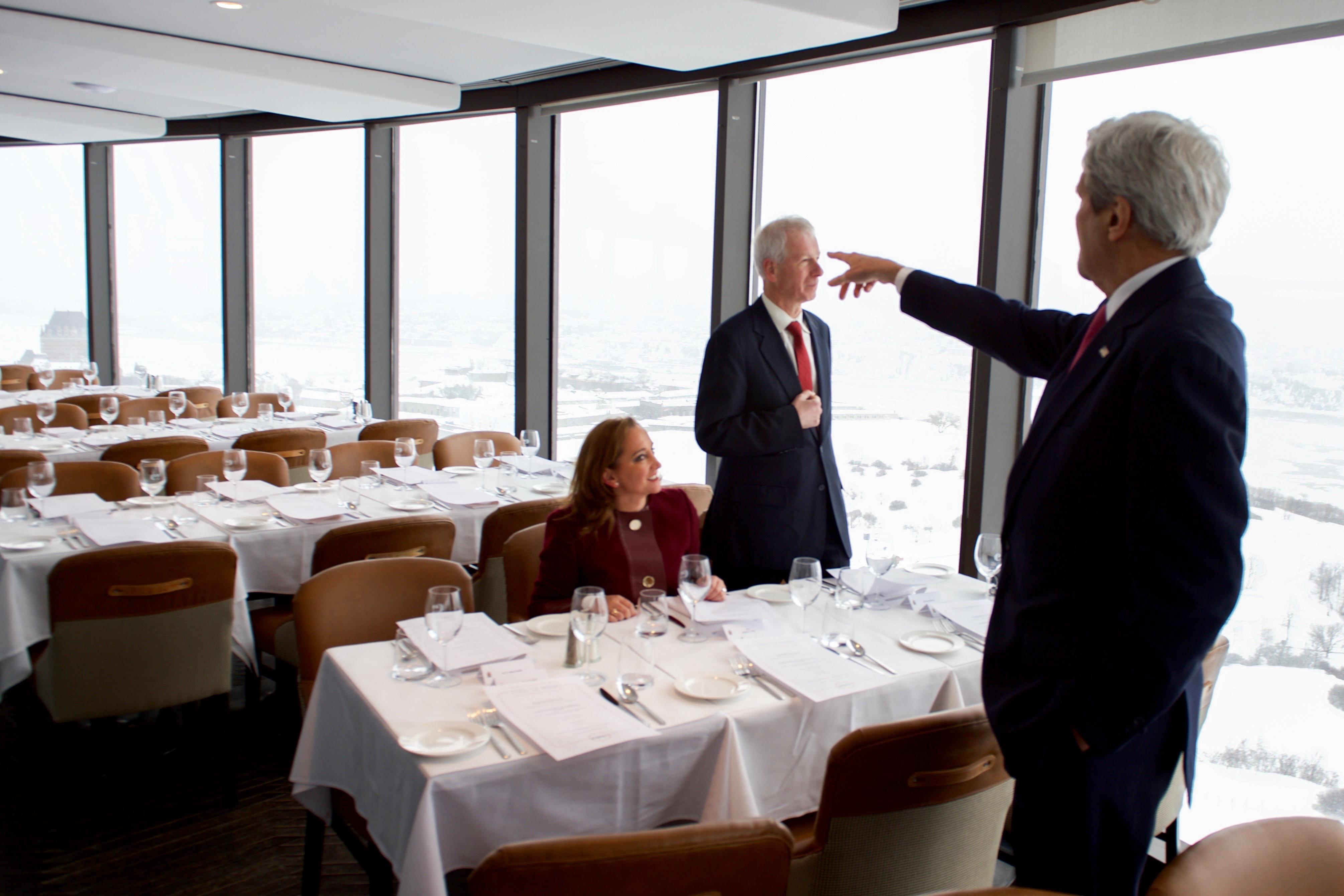 Chateau Frontenac Restaurant Review