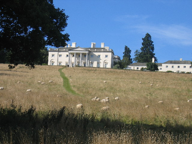 Shardeloes, the house from the park - geograph.org.uk - 49788