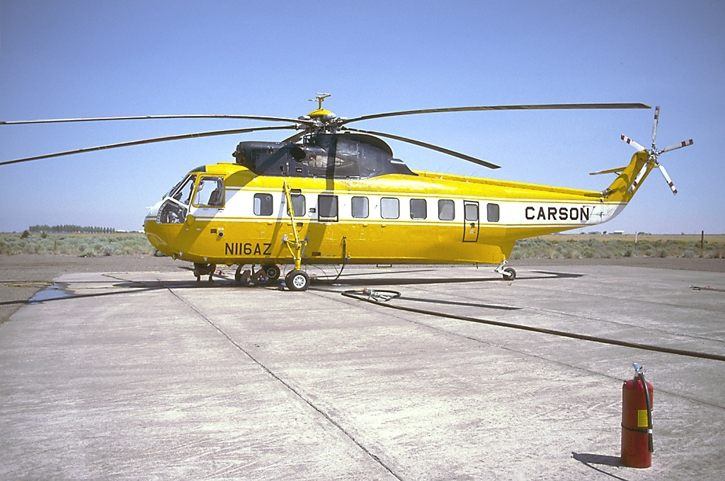 Elicottero S 61 : File sikorsky s n shortsky carson helicopters an