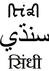 Sindhi language Indo-Aryan language spoken in South Asia