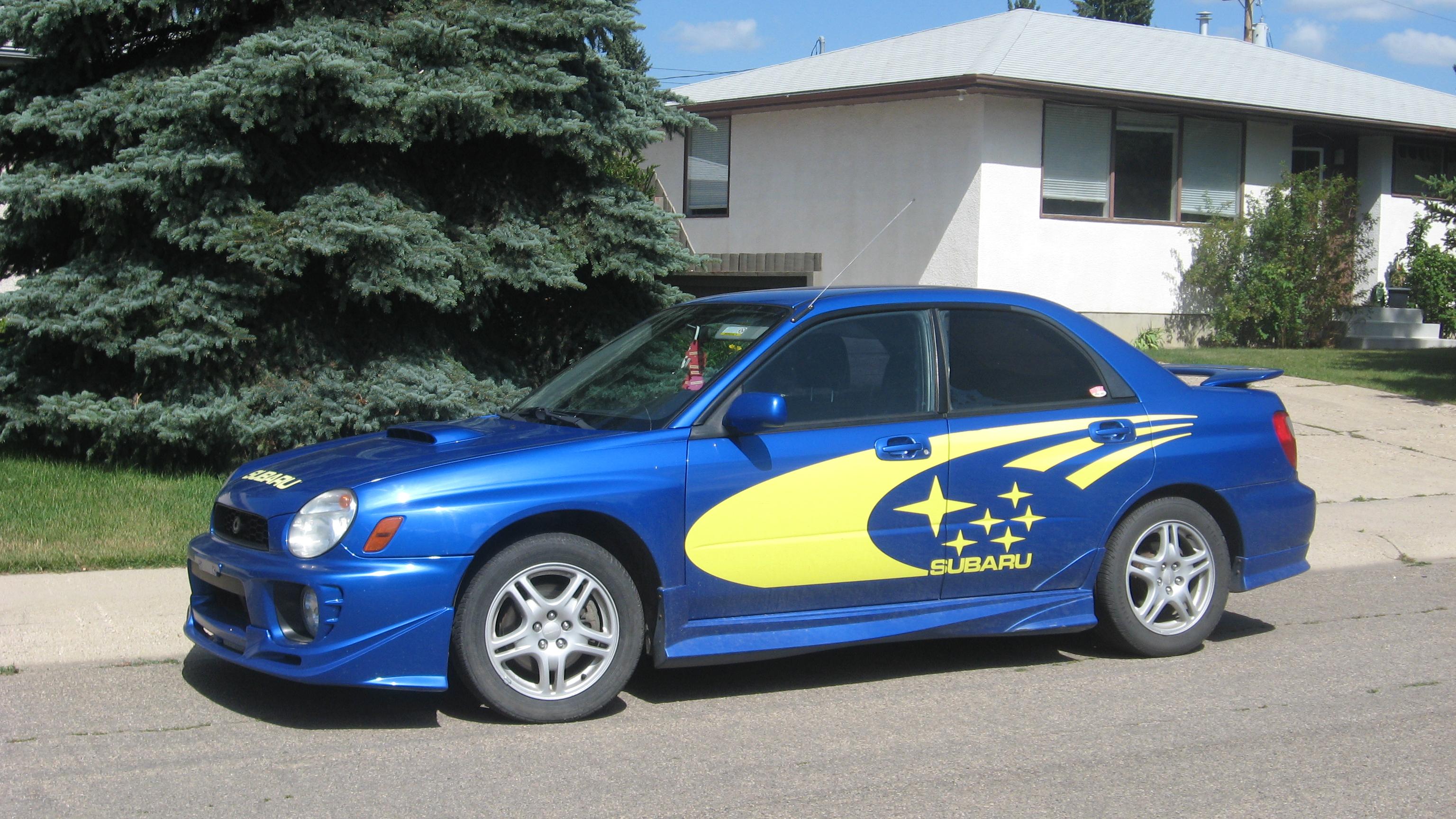 File Subaru Legacy Faux Wrc Jpg Wikimedia Commons