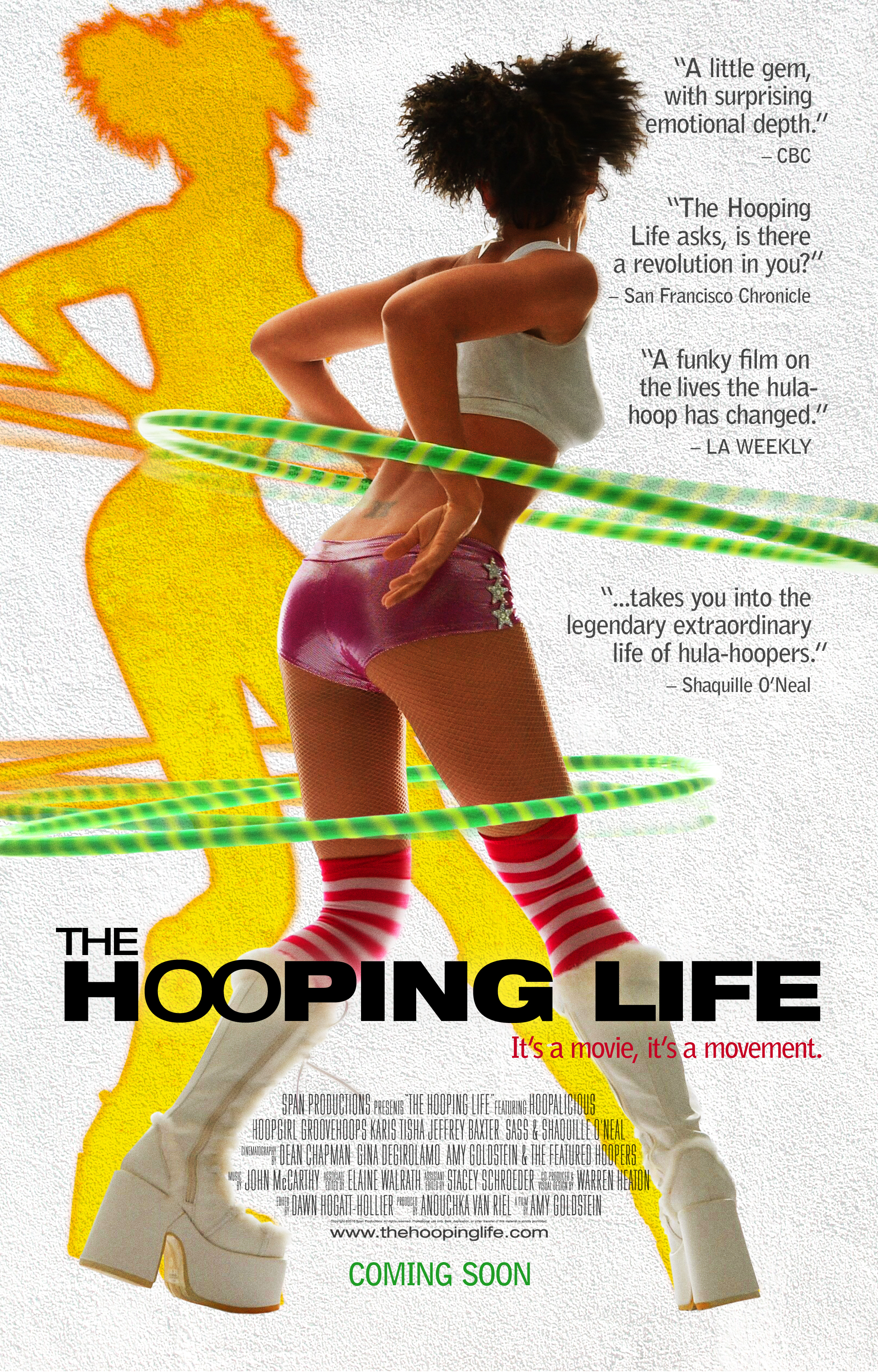 Picture of a movie: The Hooping Life