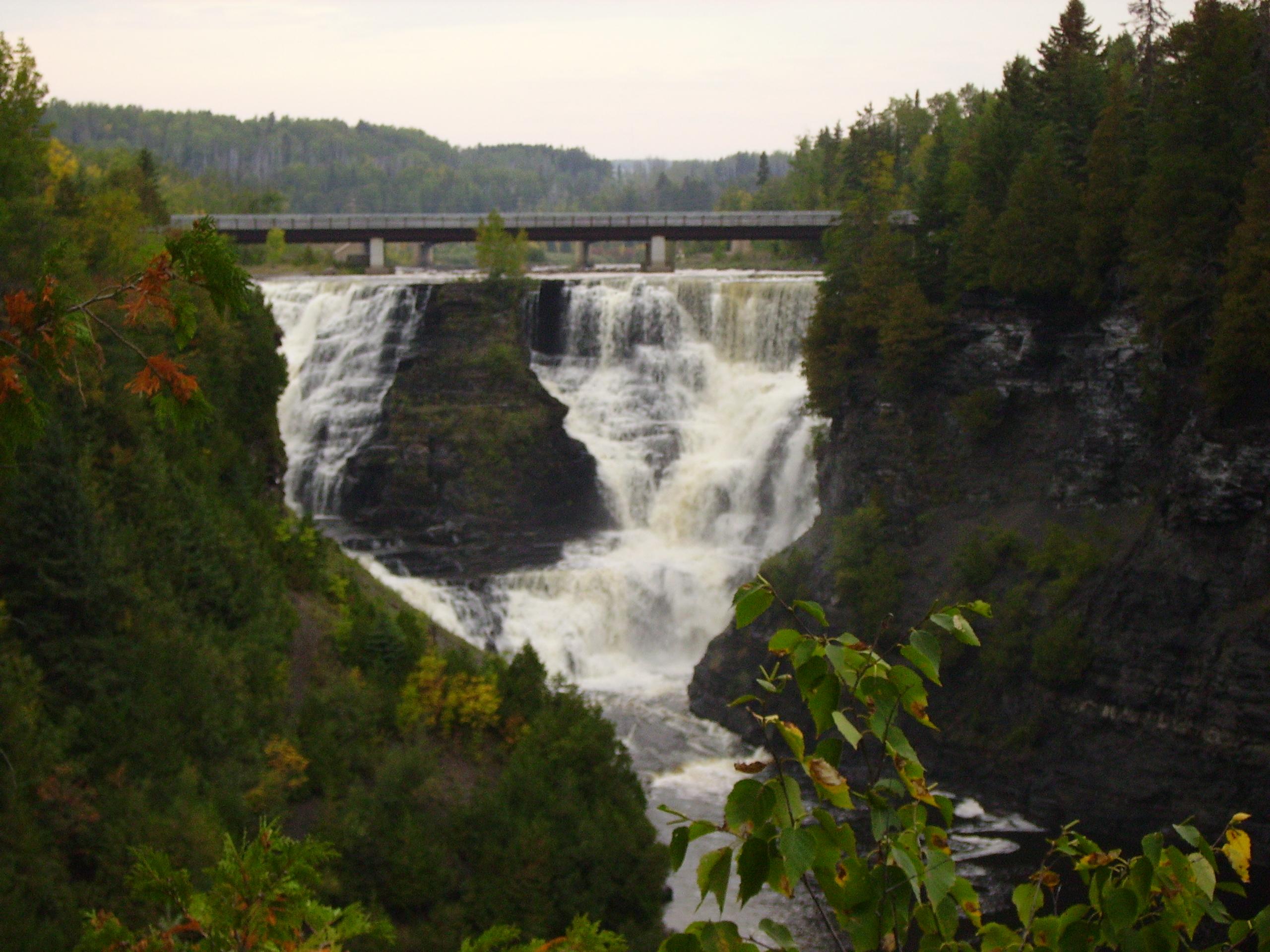 Kakabeka Falls on the Kaministiquia River, Ontario, Canada