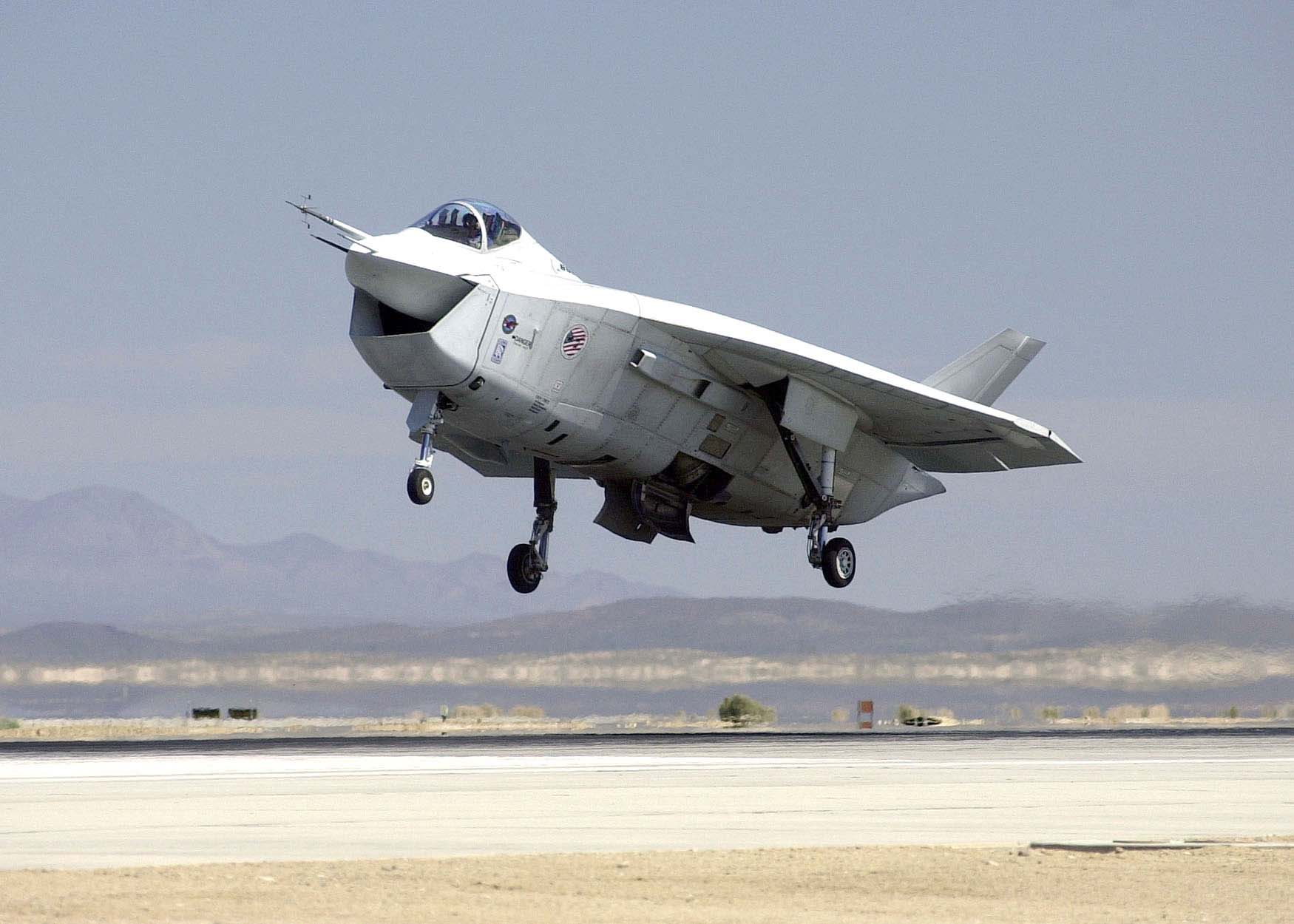 Boeing X-32 - Wikipedia, the free encyclopedia