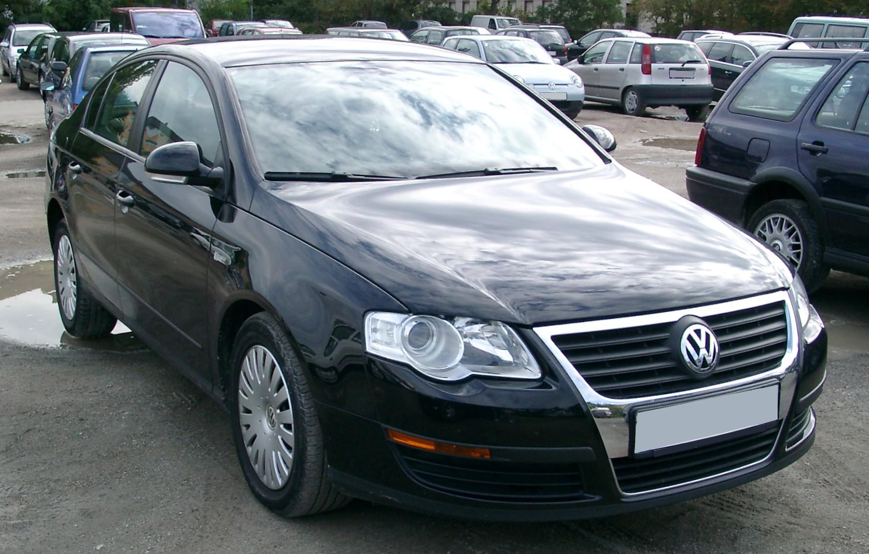 volkswagen passat 2007 поколение