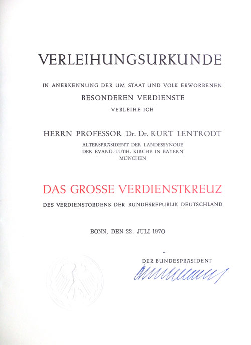 File:Verleihungsurkunde Grosses Verdienstkreuz 1970 Lentrodt.jpg ...