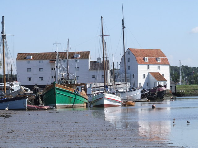 Woodbridge Tide Mill - geograph.org.uk - 234198