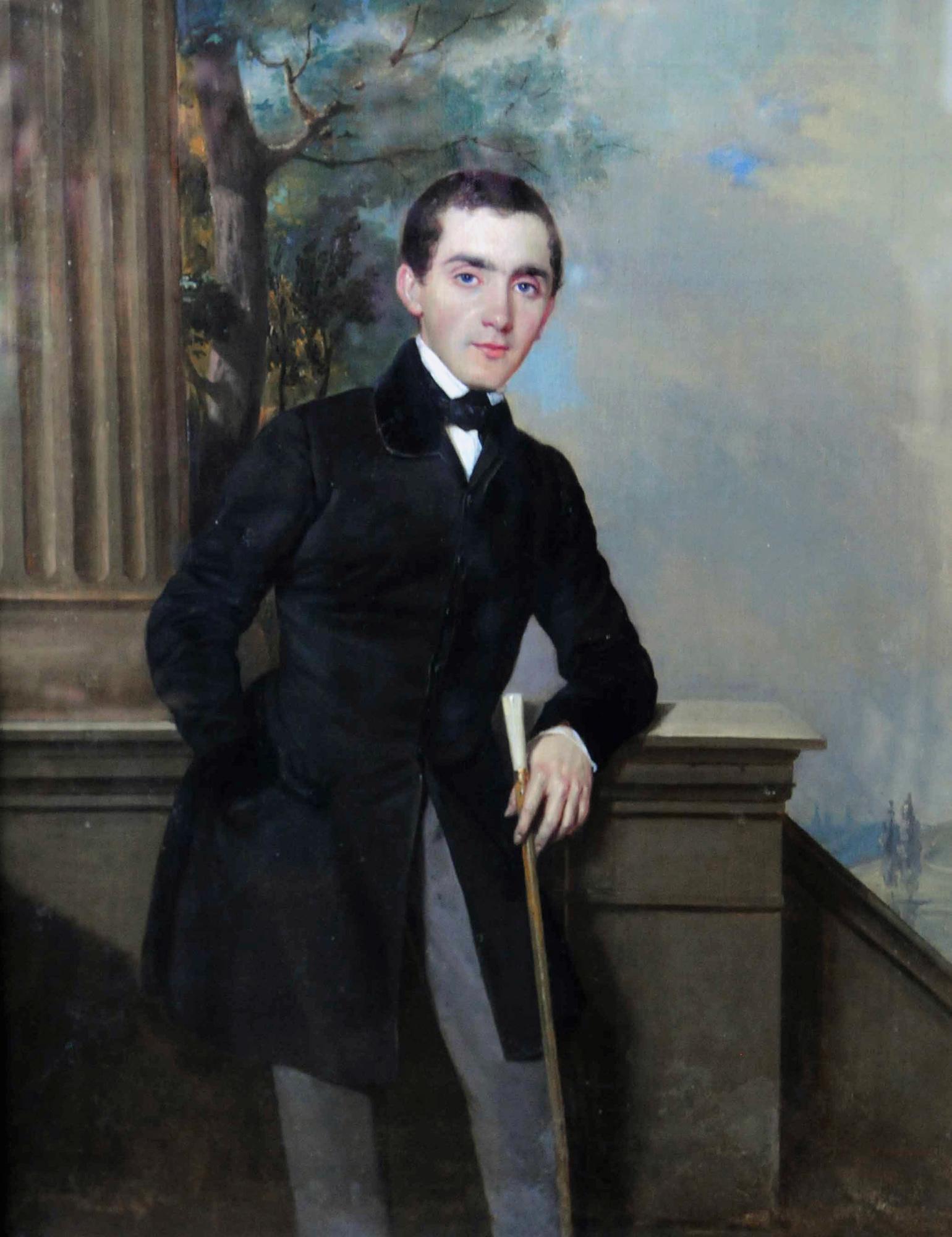 Пётр Захаров-Чеченец - Автопортрет (1833-1834).jpg