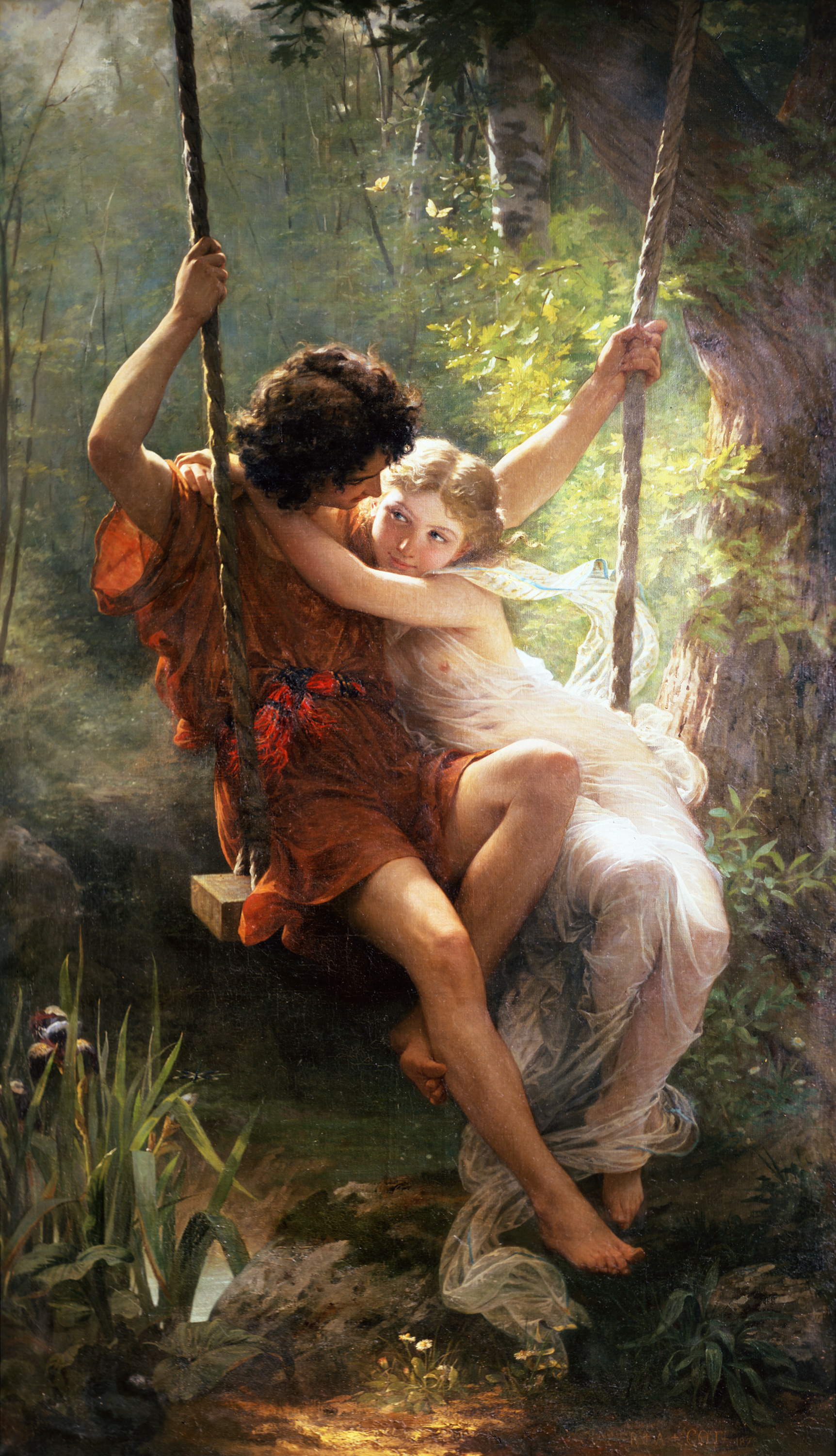Pierre Auguste Cot [Public domain], via Wikimedia Commons