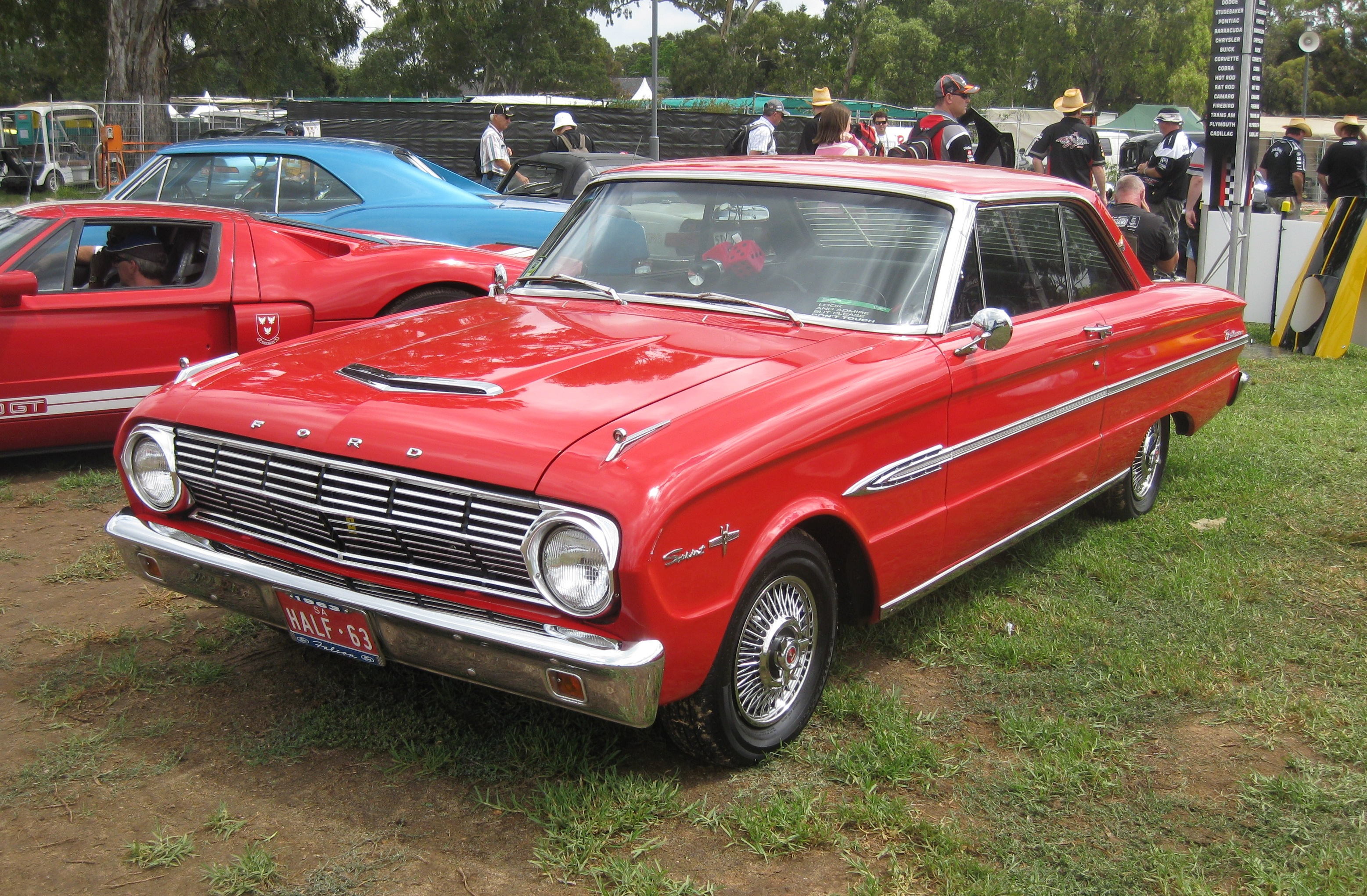 Ford Falcon  North America on 1963 ford falcon sprint parts for sale