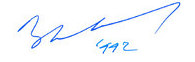 1992 signature of King Baudouin of Belgium.jpg