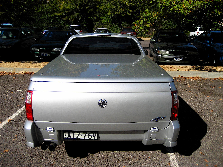 File:2004 2007 Holden vz Ute