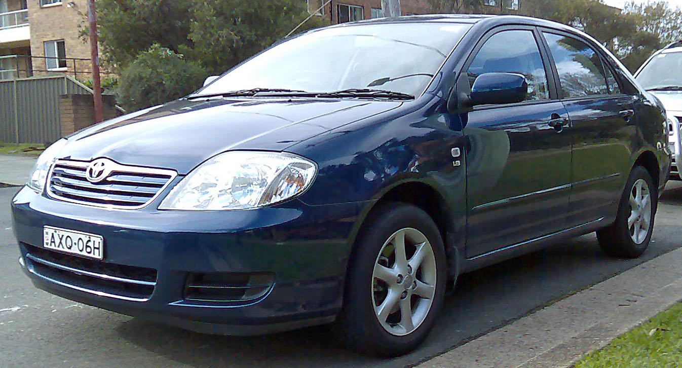 Тойота королла 2004 фото