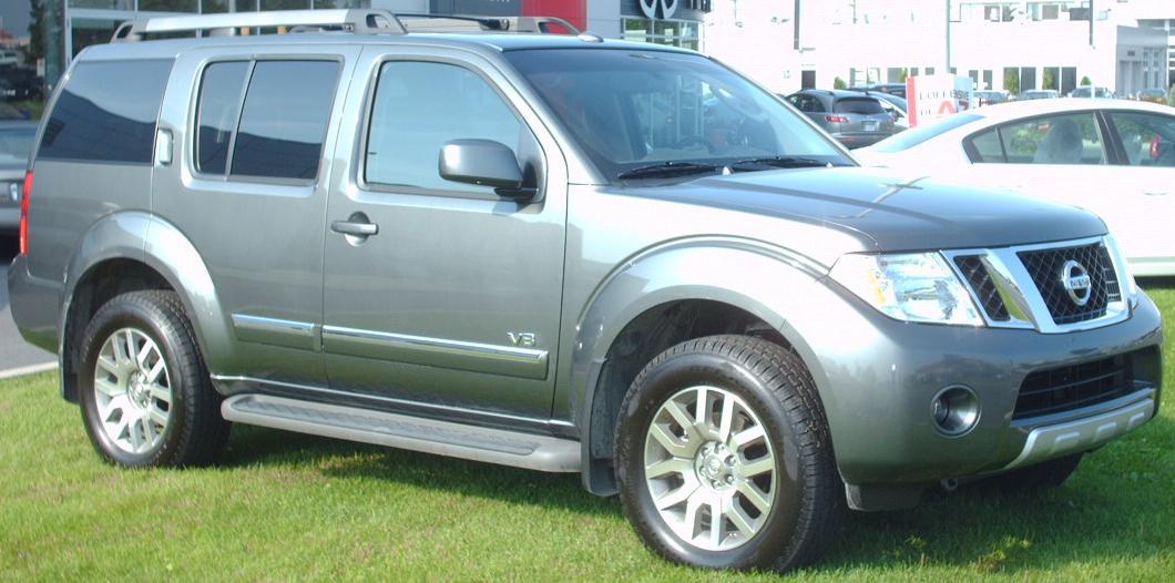 File 2008 Nissan Pathfinder V8 Jpg Wikimedia Commons
