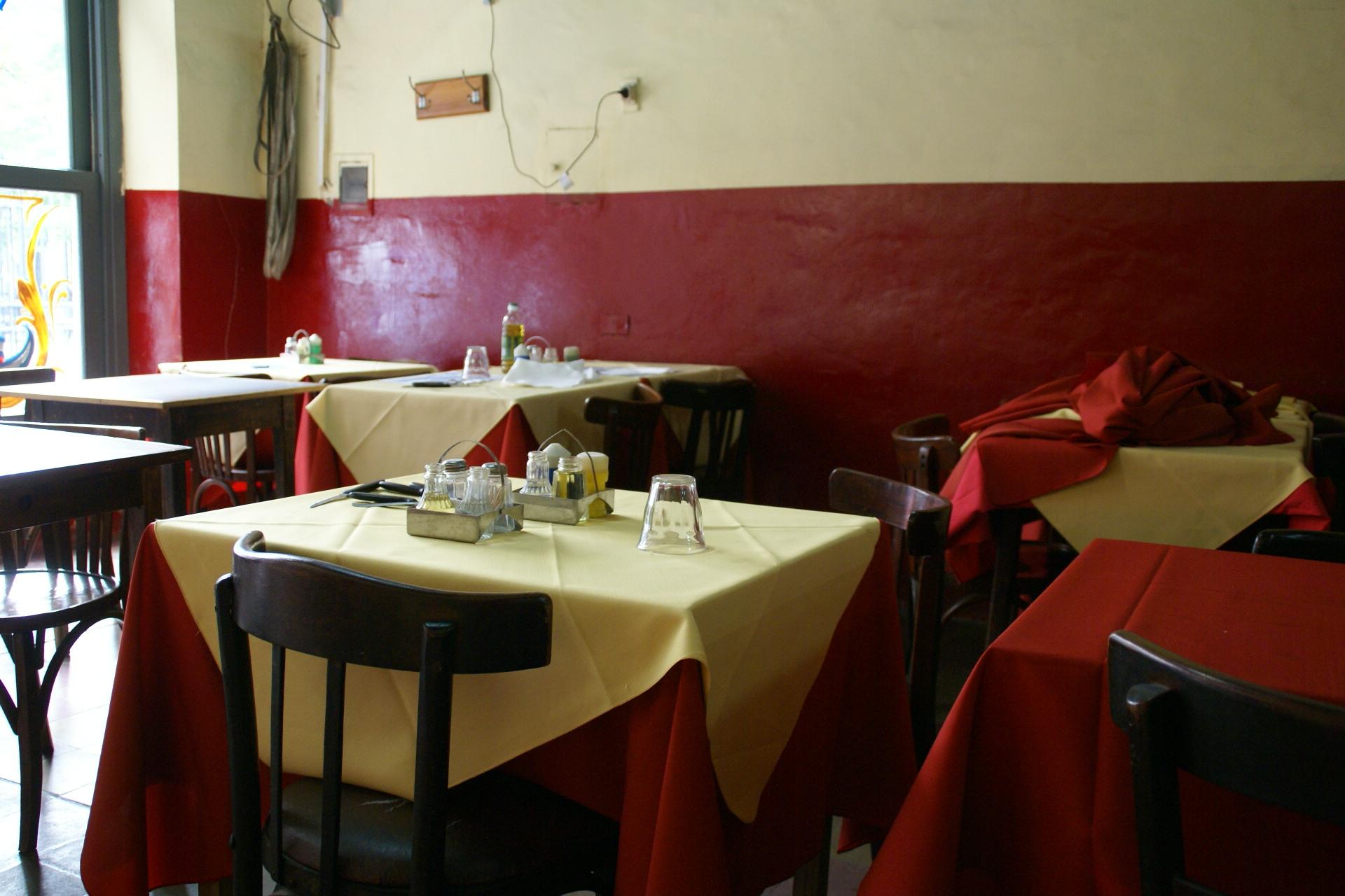 Restaurant tables - File 2011 10 17 090653 Tables Restaurant Calle Defensa Monserrat Buenos Aires Jpg