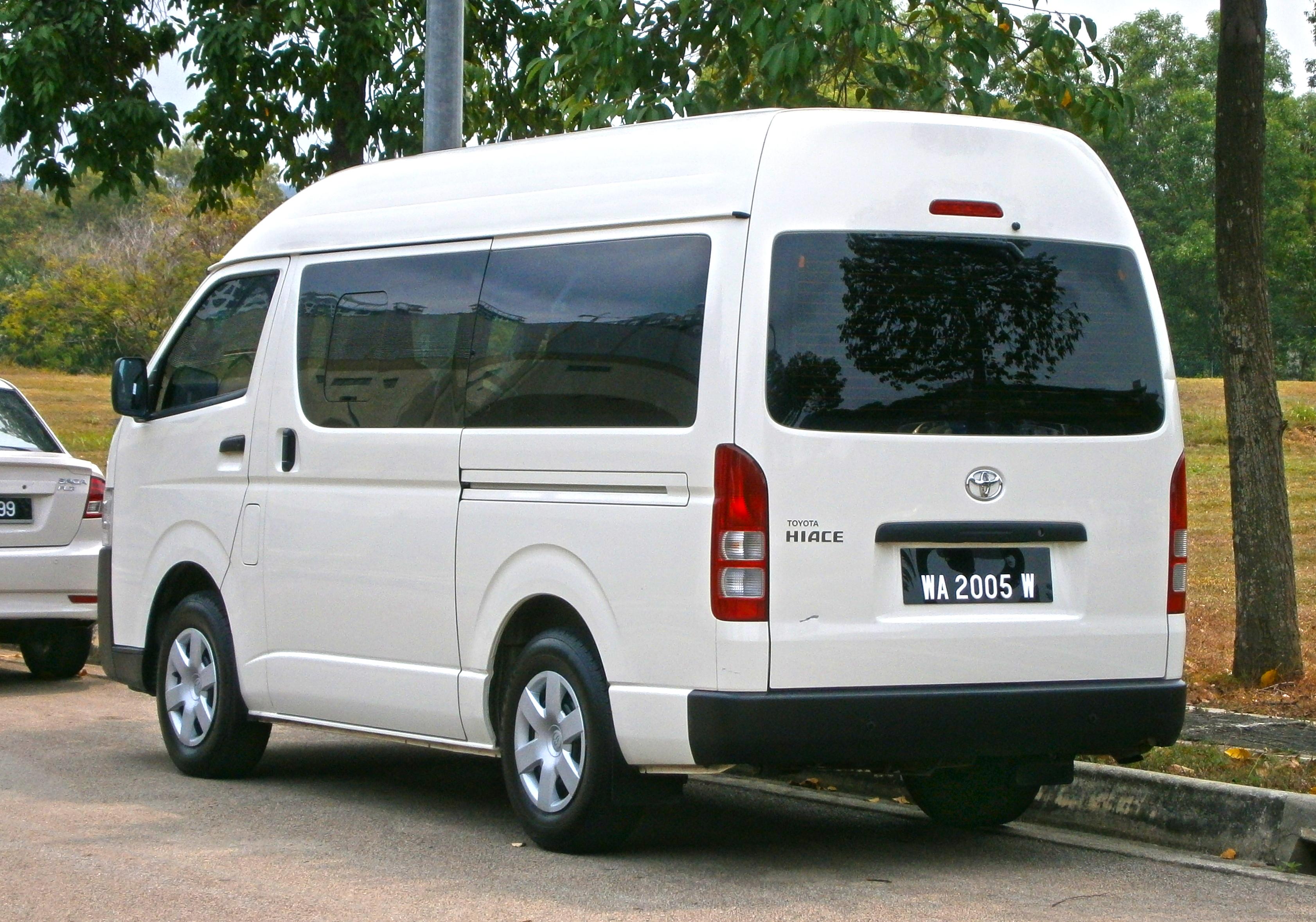 Toyota Hiace Van 2014 Www Pixshark Com Images
