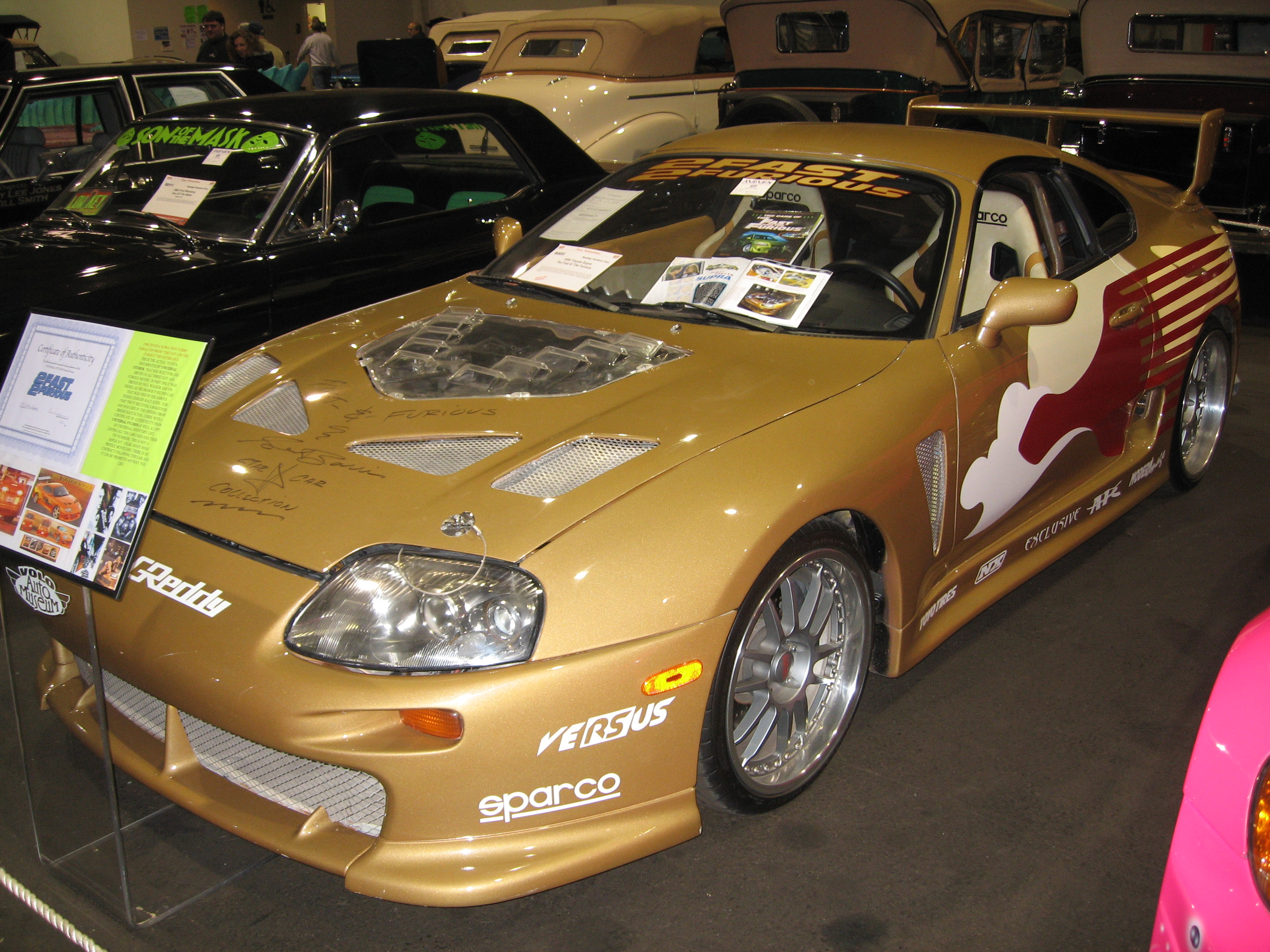 Paul Walker S Toyota Supra From The First Fast And The