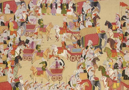 File:A battle scence from Mahabharata.jpg