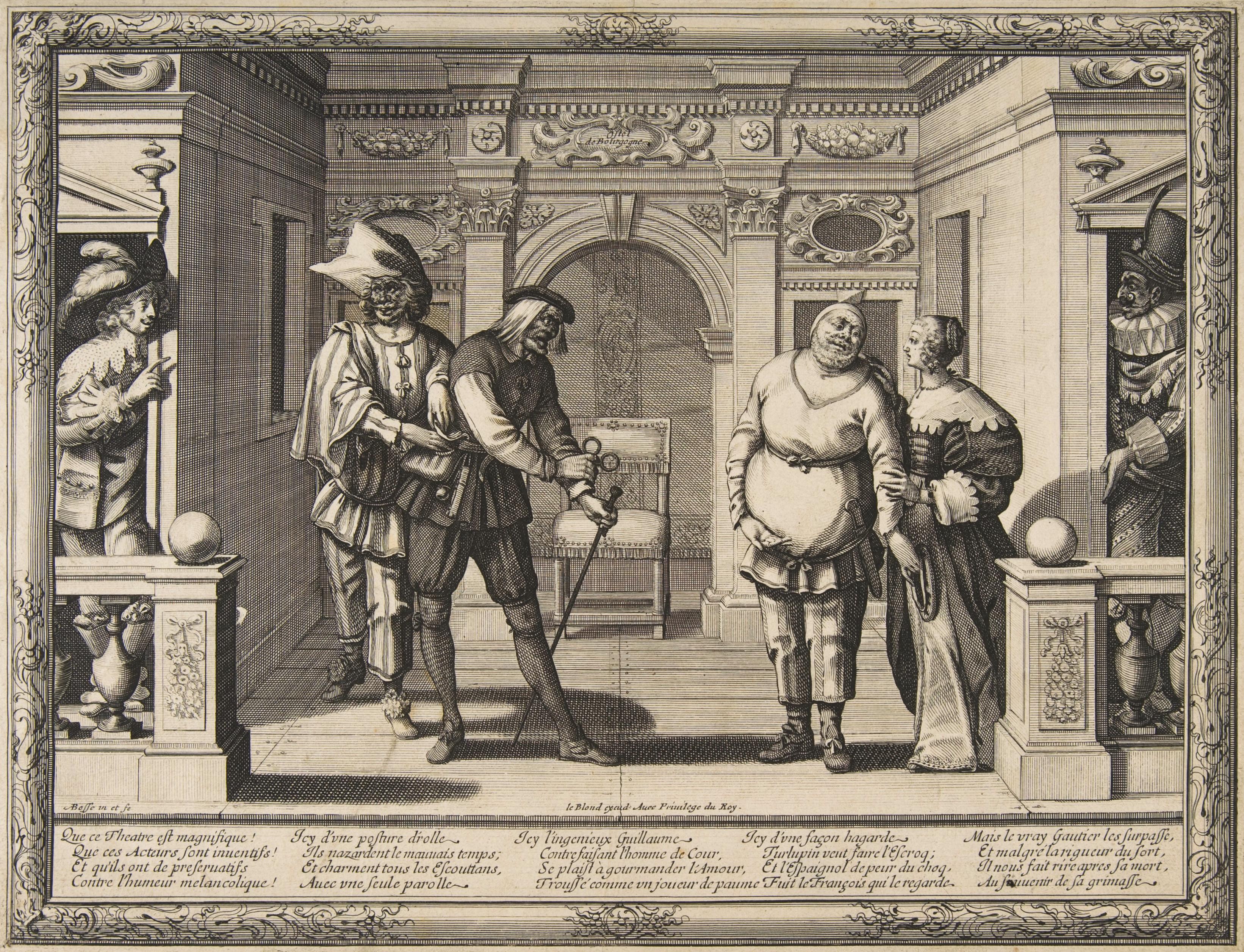 File:Abraham Bosse, Actors at the Hotel de Bourgogne, ca. 1633–