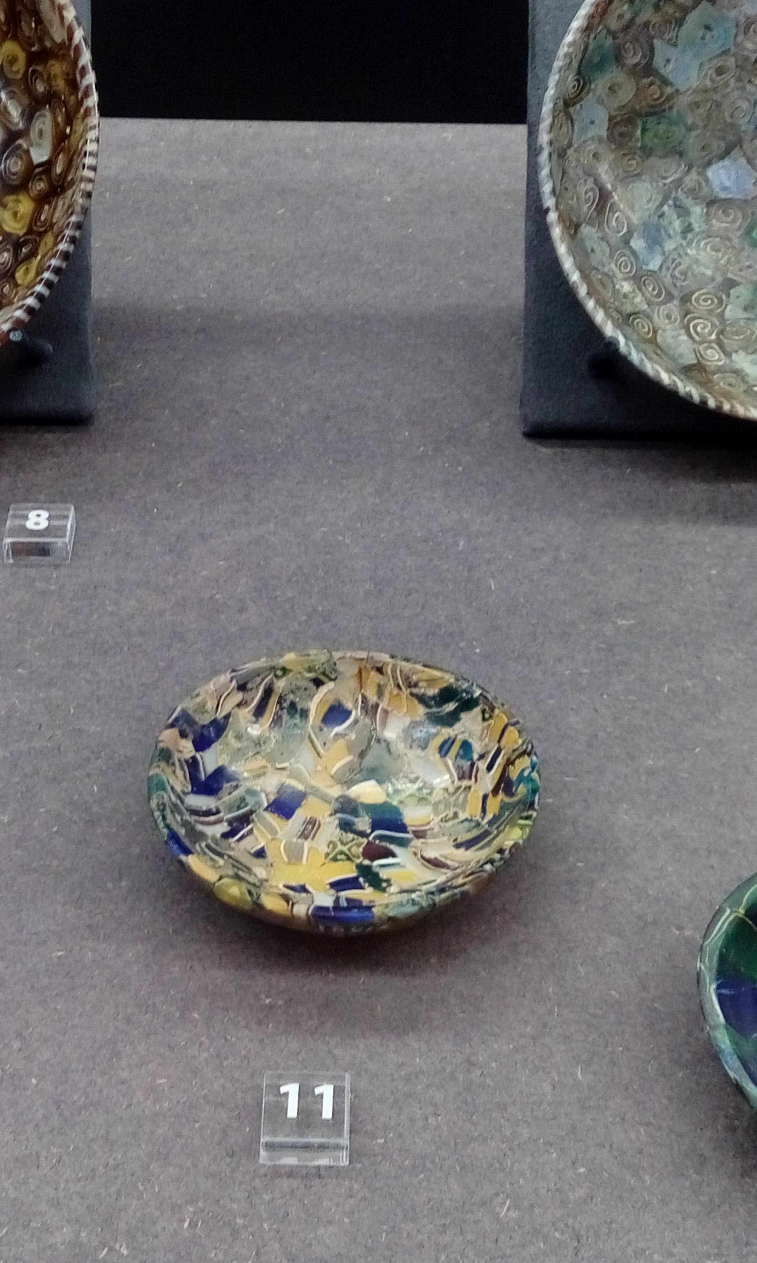 File Ancient Roman Millefiori Dish 1st Century Bc 1st Century Ad Museo Archeologico Di Firenze Foto Giovanni Dall Orto 12 Jan 2018 06 Jpg Wikimedia Commons