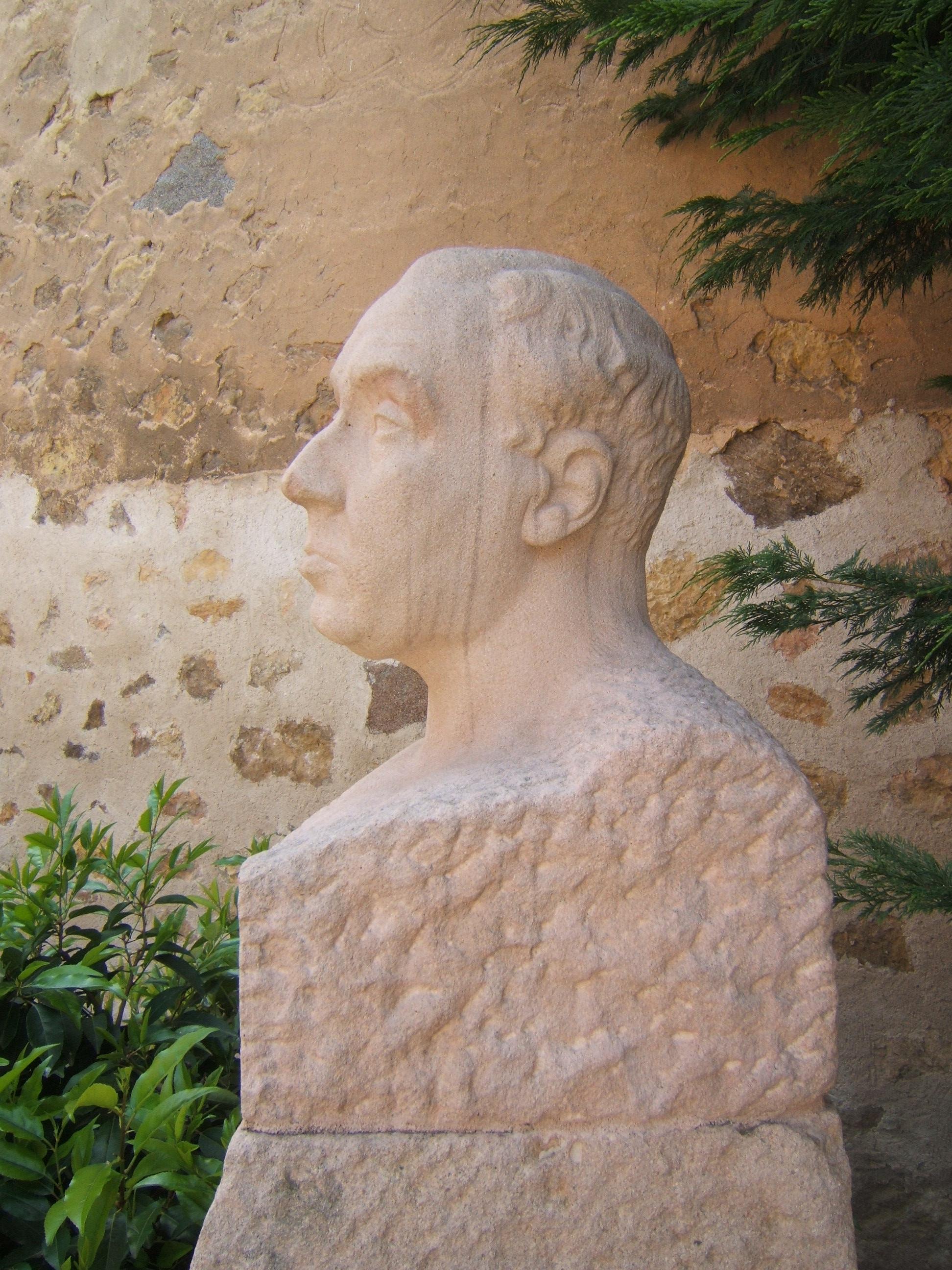 Antonio Machado por Barral (hacia 1920-22)