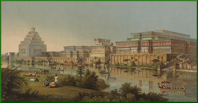 Archaeologist Henry Layard's image of Nineveh