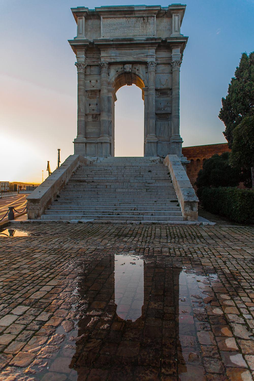 Arco Di Traiano  Ancona