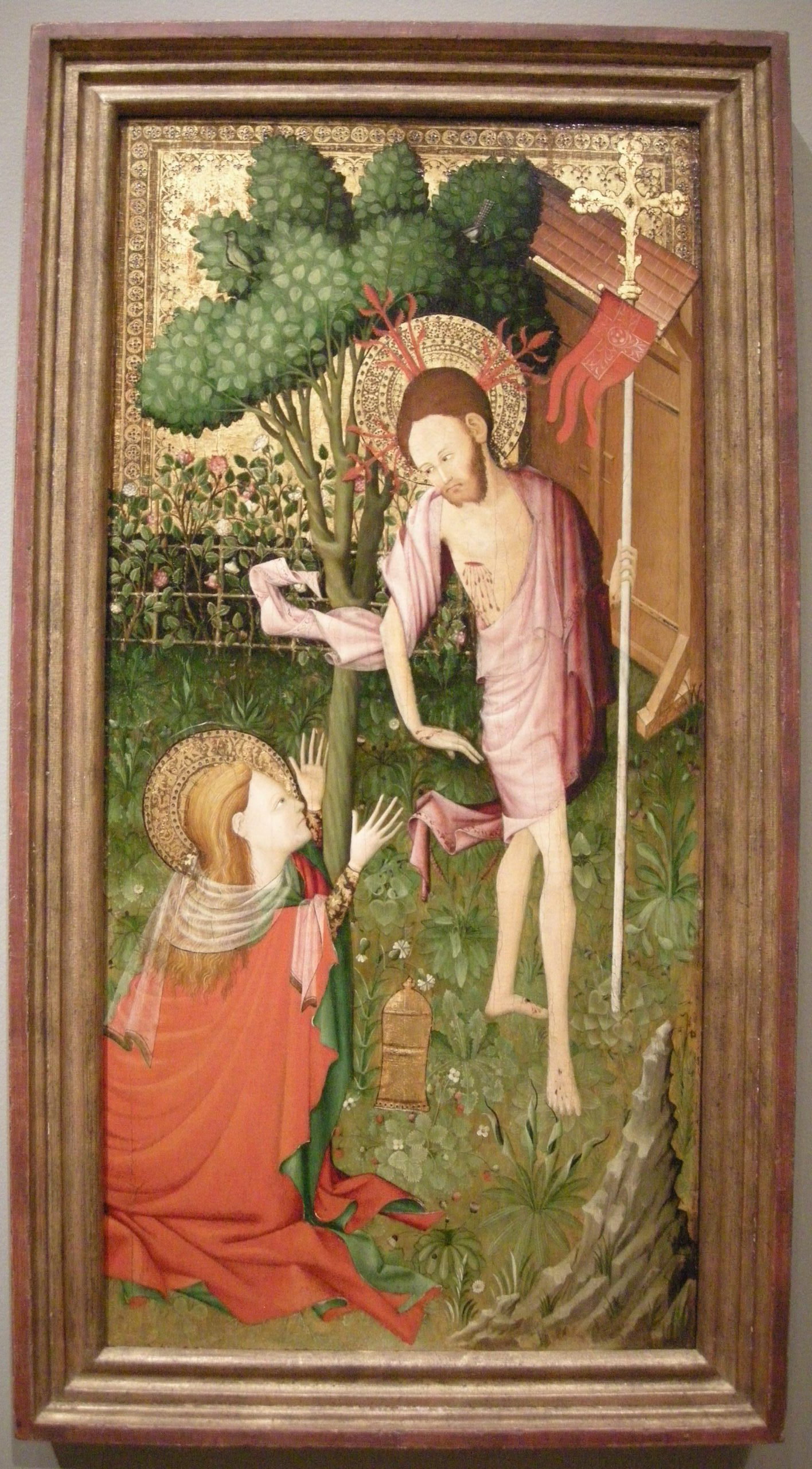 noli me tangere controversy The painting depicts a risen christ following his crucifixion in a ' noli me tangere controversial portrayal of a mathematical, physical and engineering.