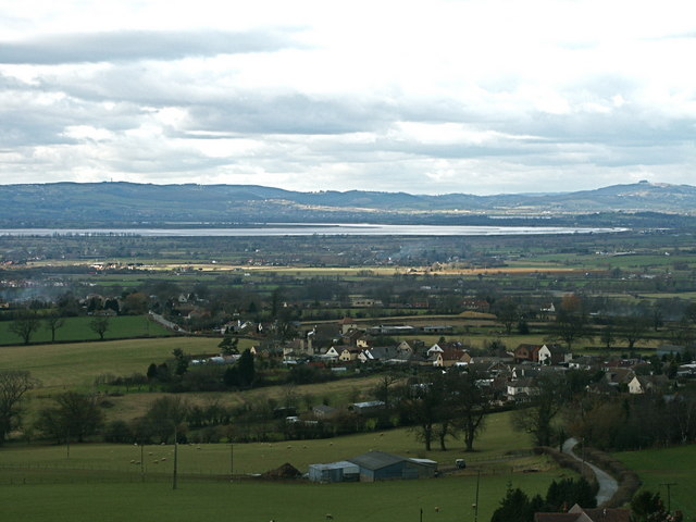 Ashmead Green from Cam Long Down, Cotswolds - geograph.org.uk - 1602186